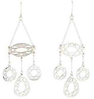 Christofle Gem Gem 3 Pendant Drop Earrings