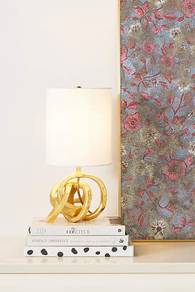 Anthropologie Mini Knot Table Lamp