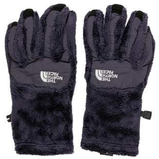 The North Face Logo Faux Fur Gloves