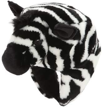 Dolce & Gabbana Zebra Shaped Plush & Fleece Hat