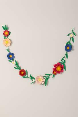 May Contain Glitter Paper Flower Garland