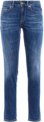 Dondup Monroe Low Waist Skinny Jeans