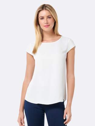 Forever New Bailey Floaty Blouse - White - 4