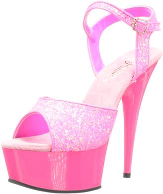 Pleaser USA Women's Delight-609 Ankle-Strap Sandal