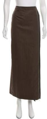 Maison Margiela Wool Midi Skirt