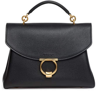 35497021f264 Salvatore Ferragamo Black Top Handle Bags For Women - ShopStyle UK