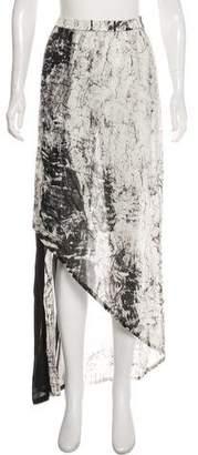 Ilaria Nistri Asymmetrical Midi Skirt w/ Tags