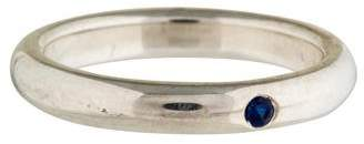 Tiffany & Co. Blue Sapphire Stacking Ring