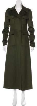 MS MIN Longline Wool Coat w/ Tags