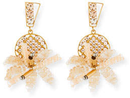 Lulu Frost Bora Flower Statement Earrings
