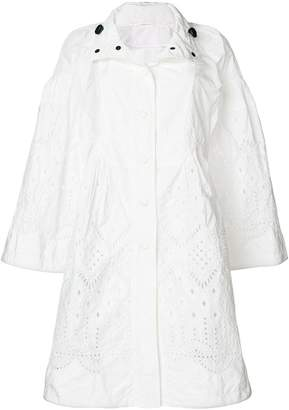 Ermanno Scervino open embroidery coat