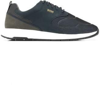 c3d4603f9cb HUGO BOSS mesh low-top sneakers