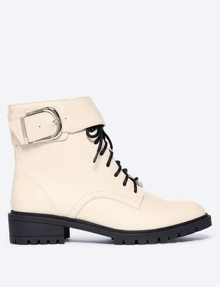 Marks and Spencer Cleated Hiker Block Heel Ankle Boots