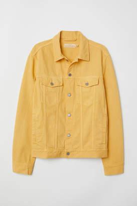 H&M Denim Jacket - Yellow