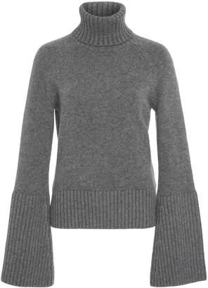 Michael Kors Bell Sleeve Cashmere Turtleneck Sweater