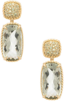 David Yurman Heritage  Chatelaine 18K Yellow Gold 25.65 Ct. Tw. Diamond & Gemstone Drop Earrings