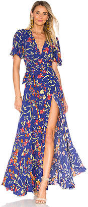 Privacy Please Plaza Kimono Dress in Blue $238 thestylecure.com