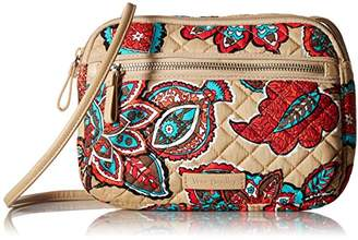Vera Bradley Iconic RFID Little Crossbody