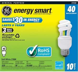 GE CFL 10wt Soft-White Spiral - 12 bulbs
