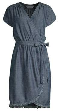 Trina Turk Morina Chambray Wrap Dress