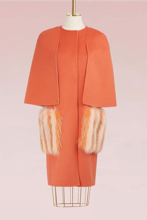Fendi Cap coat