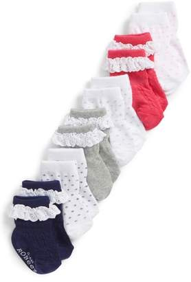 Robeez R) Pretty In Lace 6-Pack Socks