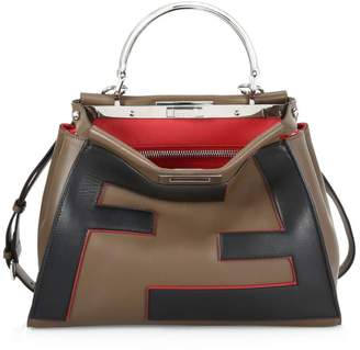 Fendi Regular Peekaboo Leather Bag