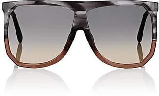 Loewe Women's Filipa Sunglasses - Striped Grey, transparent brown