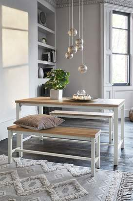 Next Ellison Dining Table And Bench Set