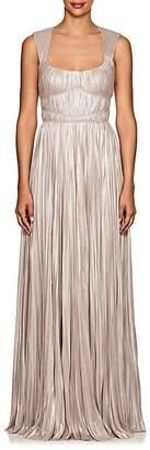J. Mendel Women's Shimmering Plissé Gown