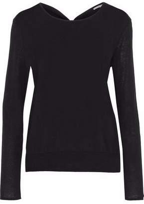 Dagmar House Of Noreen Twist-Back Cotton-Blend Sweater