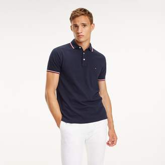 Tommy Hilfiger Slim Fit Organic Cotton Polo