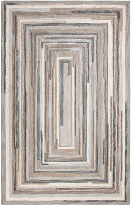 Company C Concentric Hand-Tufted Wool Rug