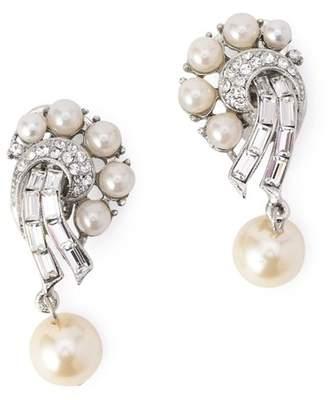Ben-Amun (ペン アムン) - BEN-AMUN Pearl drop CLIP earrings