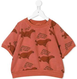 Bobo Choses walrus print top