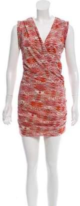 IRO Silk Printed Dress