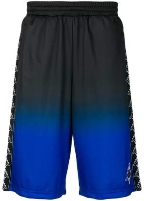 Marcelo Burlon County of Milan Kappa gradient track shorts