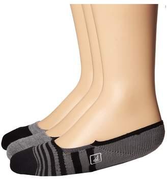 Sperry Rugby Skimmer Liner Men's Crew Cut Socks Shoes