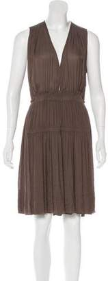 Isabel Marant Pleated Knee-Length Dress