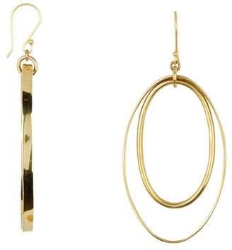 Soko Open Oval Drop Earrings