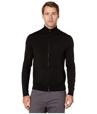 Calvin Klein Merino Full Zip Sweater