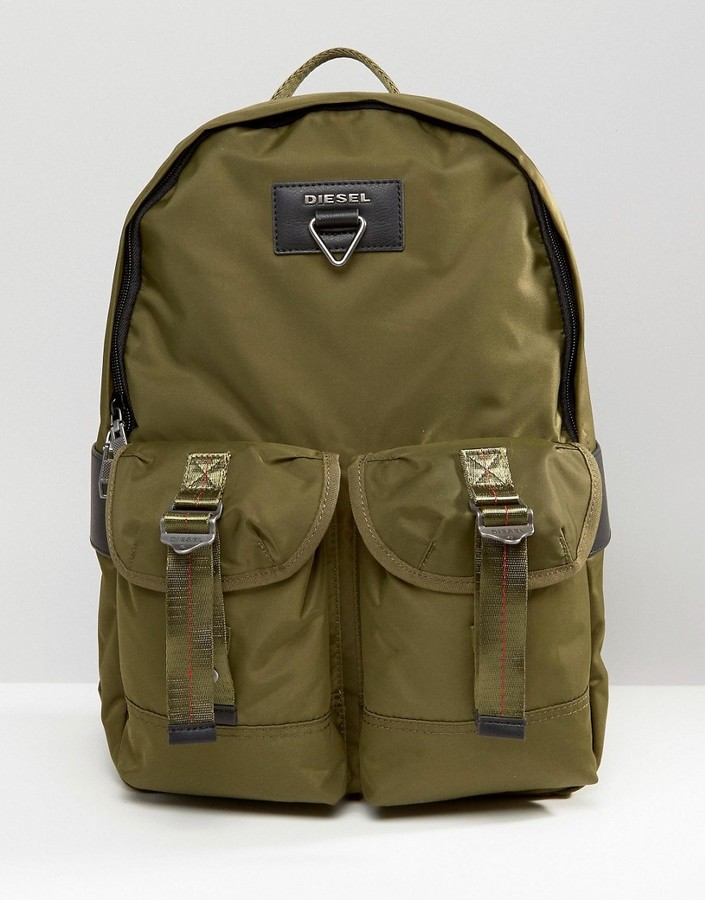 Diesel Diesel Military Backpack Green