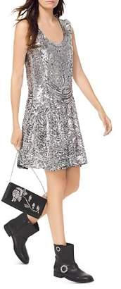 MICHAEL Michael Kors MICHAEL Sequined Slip Dress