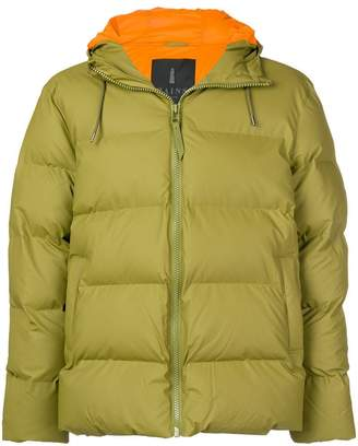 Rains zipped padded jacket
