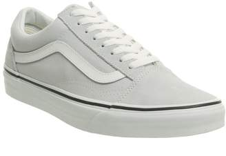 ef2a5d34a136 Vans Old Skool Trainers Gray Dawn True White
