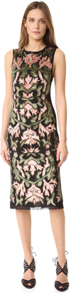 alice + olivia Nat Embroidered Dress $795 thestylecure.com