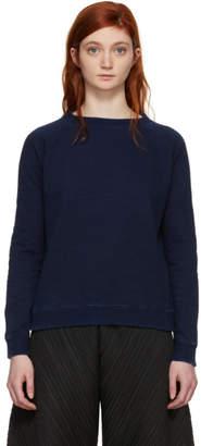Blue Blue Japan Indigo Bump Inlay Sweatshirt