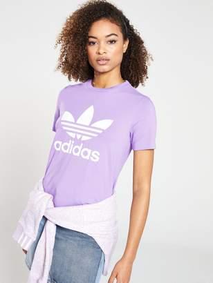 b7769564c86 Adidas Originals Trefoil T-shirt - ShopStyle UK