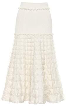 Alexander McQueen Knit midi skirt