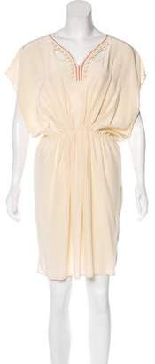 Ulla Johnson Embroidered Silk Dress